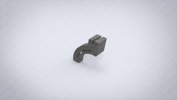 Держатель клапанного ножа неподвижный   FFG-300-160-50А