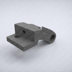Держатель клапанного ножа нижний SAM0420P05492