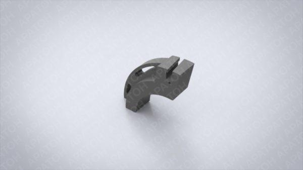 Держатель клапанного ножа подвижный FFG-294-164-50Б