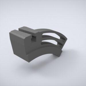 Держатель клапанного ножа - FFG-395-270-55-55Б