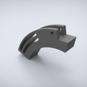 Колодка клапанного ножа _ 1224-390-270-50-80