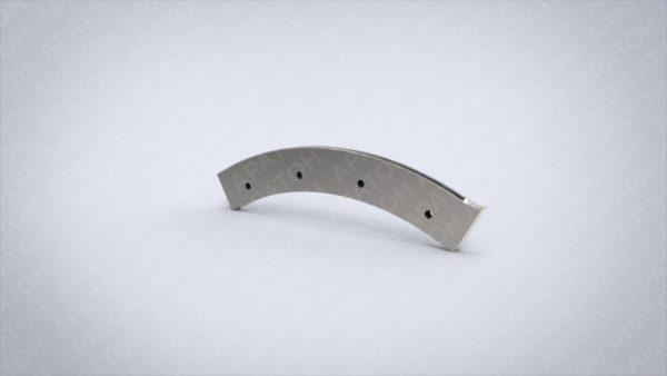 Нож вырубной (зуб2-1,5)  03-01