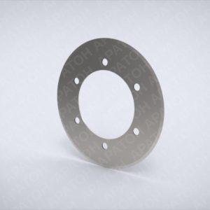 Нож дисковый ЛГК140-170-90-1,5