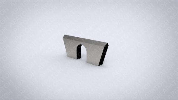 Нож клапанный 18 мм SAM0420P05414