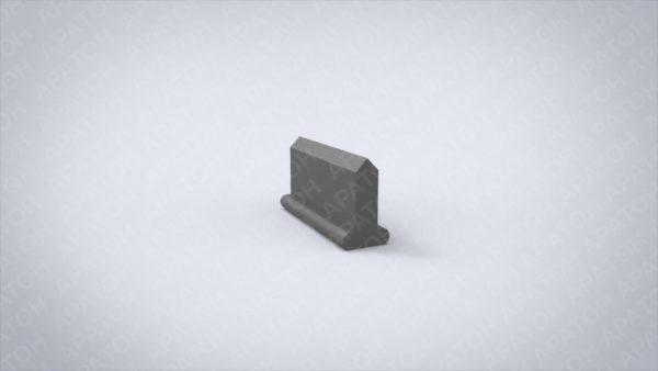 Нож клапанный   VLS1600-0-0933