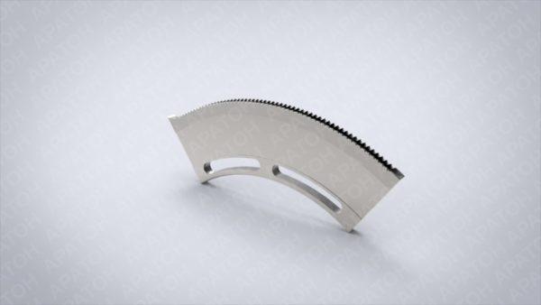 Нож просечной неподвижный  3V0S0900-0-1001