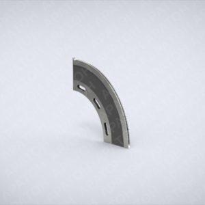 Нож просечной задний FFG-425-250-7,5-60