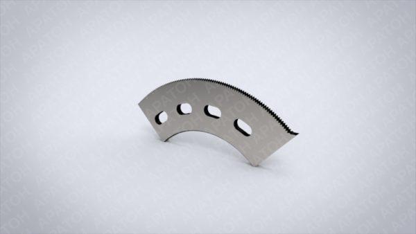 Нож просечной передний 200-КС-К5