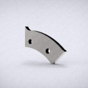 Нож просечной с носиком зубчатый SAM0420P05439c