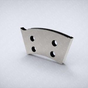 Нож просечной SAM0355P05133A