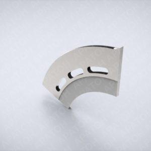 Нож секторный верхний КВ900-340.200.7-70