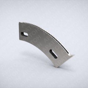 Нож секторный с носиком 10 мм 166616