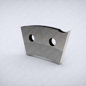 Нож секторный с носиком SAM0445P05132
