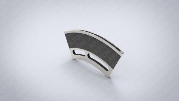 Нож секторный   2LD-03-026В
