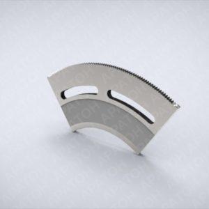 Просечной нож задний YQ4.8-02